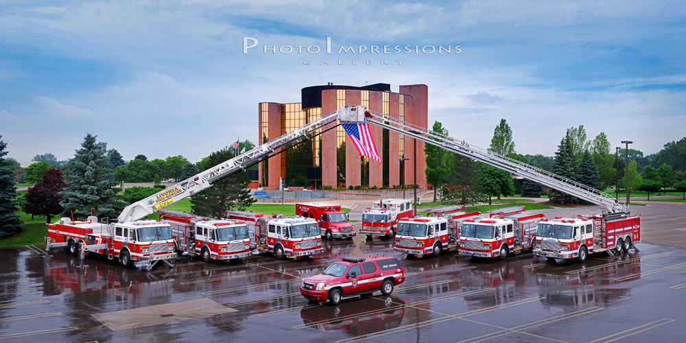 Livonia Fire Department Fire Trucks