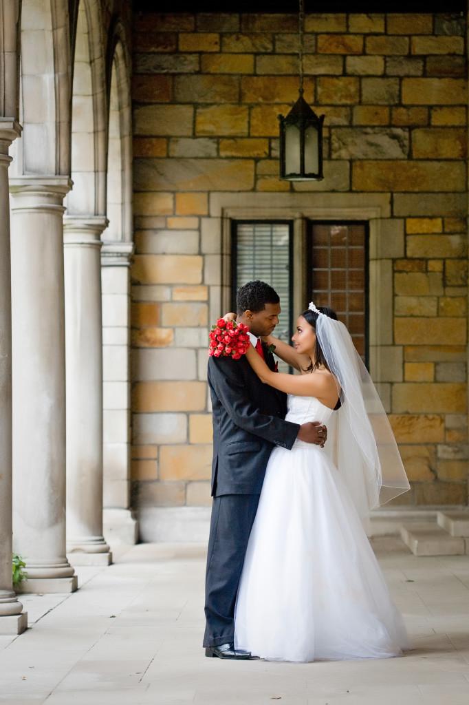 Darrell & Maya Wedding - University of Michigan Law Quad - Ann Arbor MI