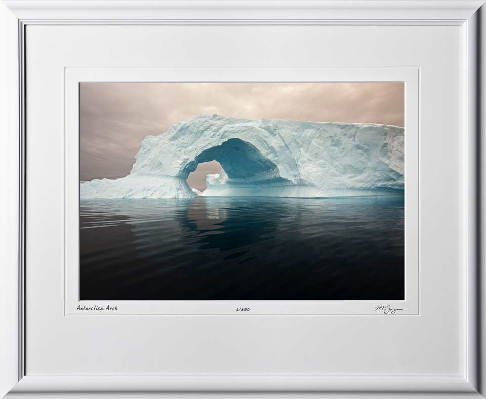 S130112D Antarctica Arch - shown as 12x18