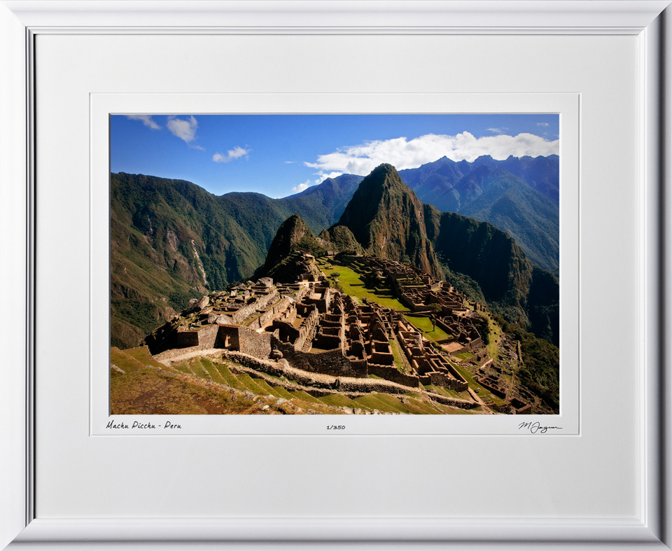 S110518 017 Machu Picchu - Peru - shown as 12x18