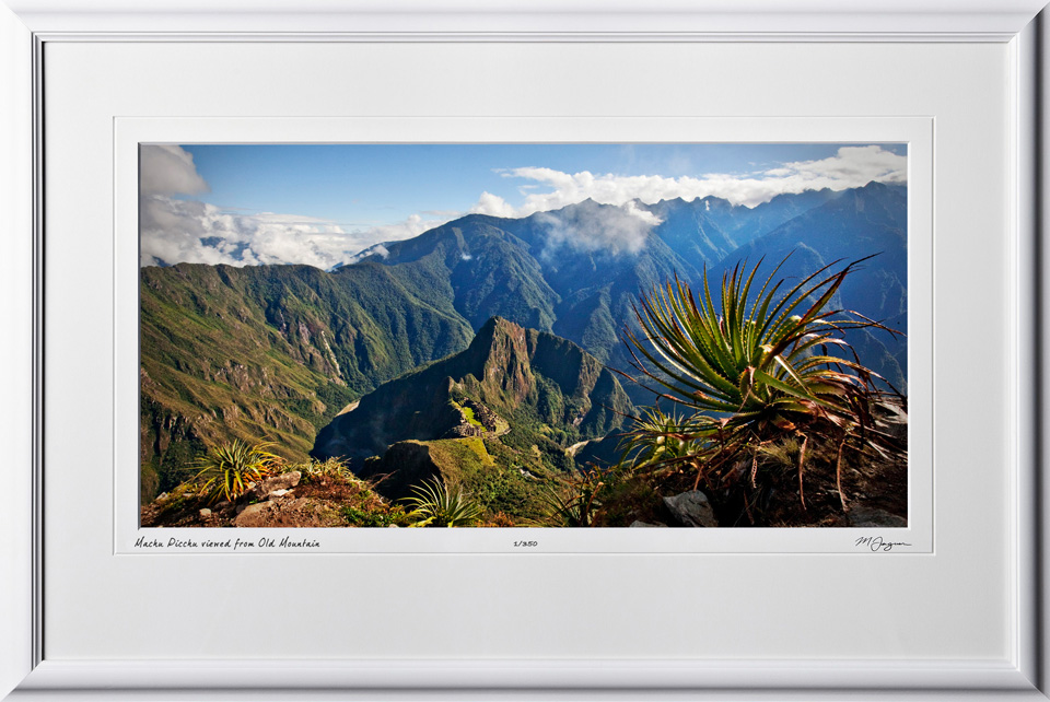 S110518 014 Machu Picchu viewed from Old Mountain - shown as 12x24