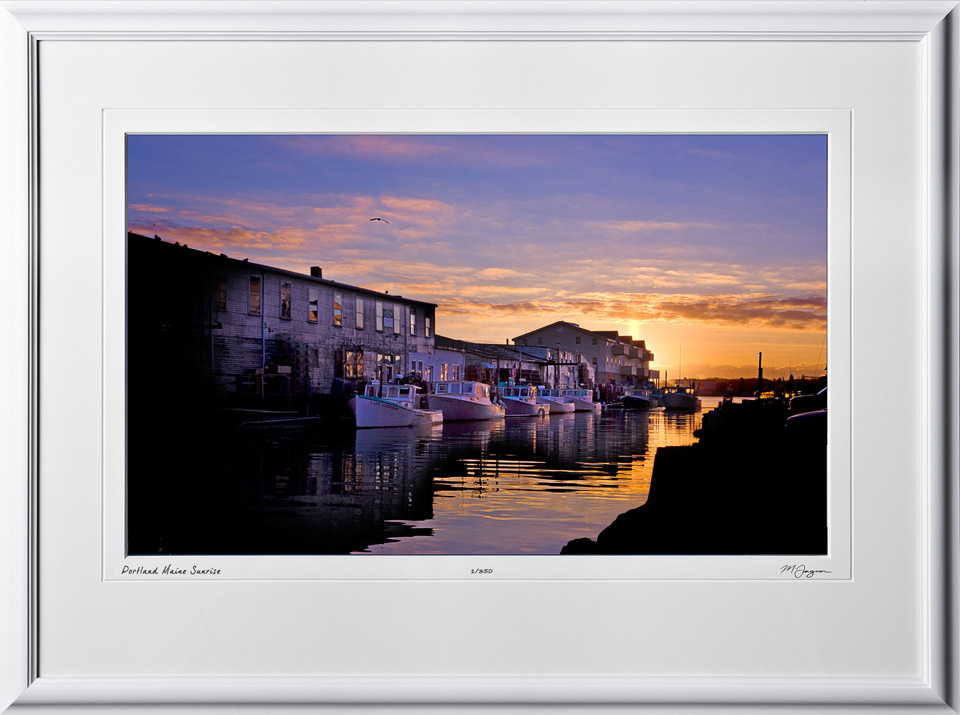S1012171 Portland Maine Sunrise - shown as 12x20