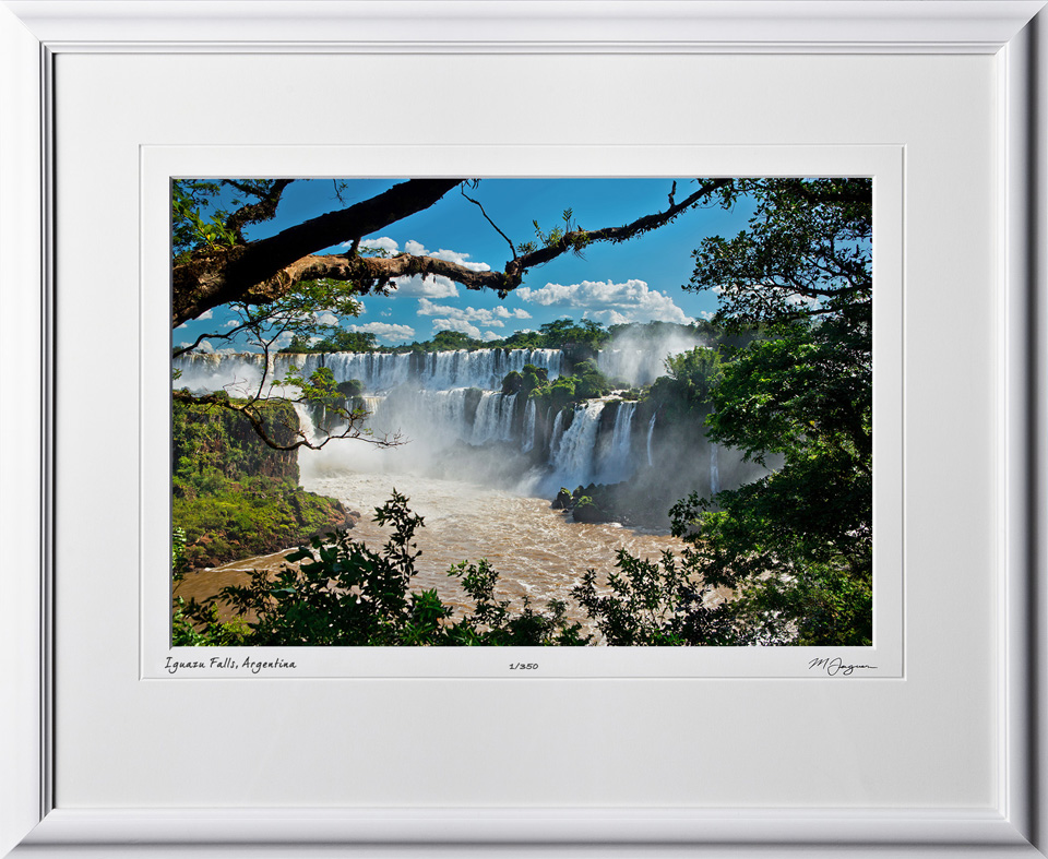 S130120F Iguazu Falls - shown as 12x18