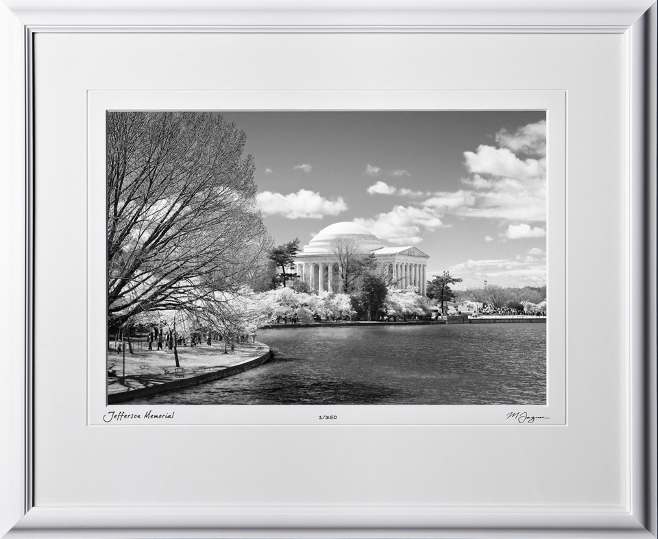 S090402F Jefferson Memorial - Washington DC - shown as 15x21