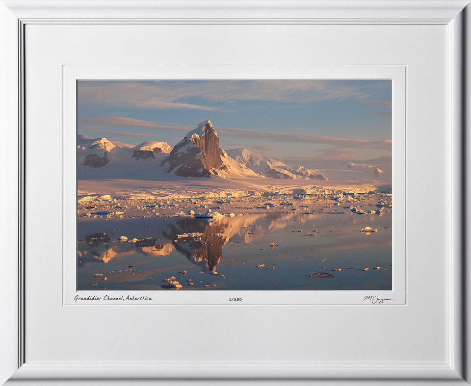 S130112F Grandidier Channel - Antarctica - shown as 12x18