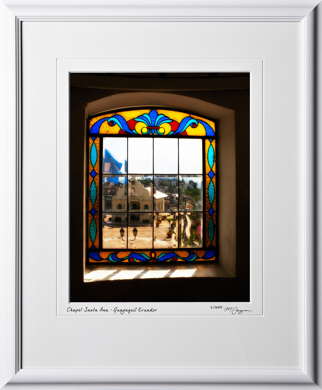 S110506 014 View Chapel Santa Ana from lighthouse Guayaquil Ecuador - shown as 11x14