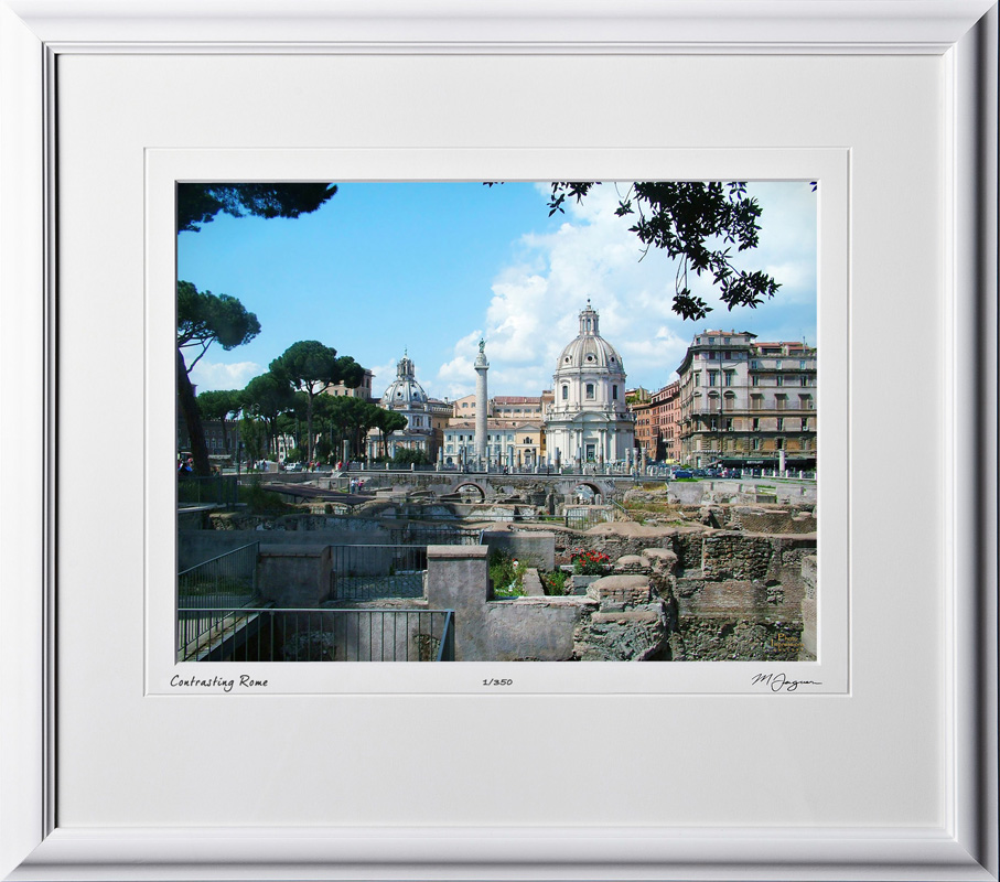 A060419A Trajan's Column SS Nome Di Maria - Rome Italy - shown as 12x16