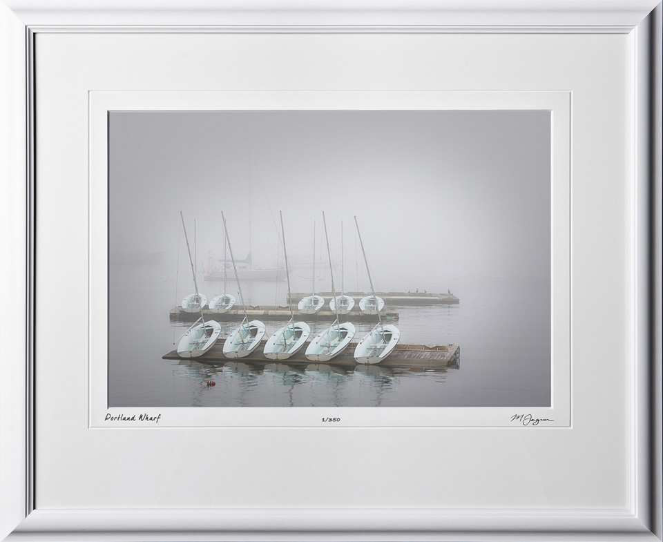 S080824M Portland Wharf - Maine - shown as 12x18