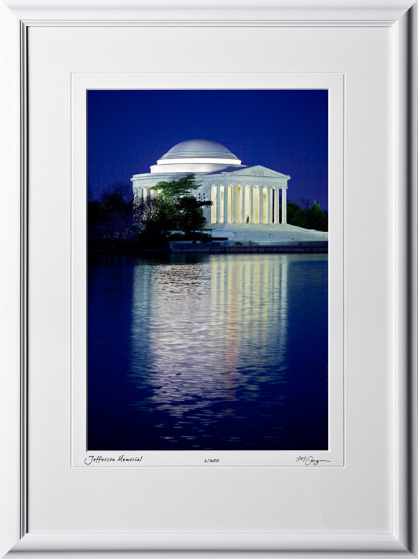 S090403A Jefferson Memorial - Washington DC - shown as 12x18