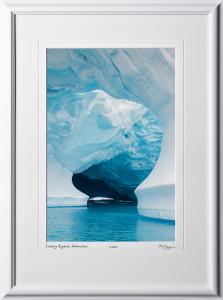 S130112H Iceberg Keyhole - Antarctica - shown as 12x18