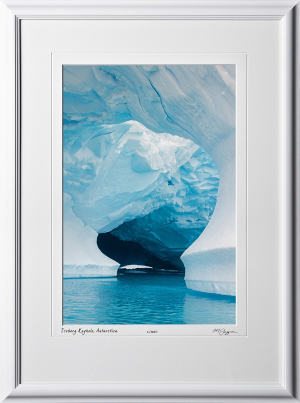 S130112H Iceberg Keyhole - Antarctica - shown as 12x18