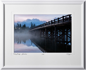 13091902 Fishing Bridge - Yellowstone - shown as 12x18