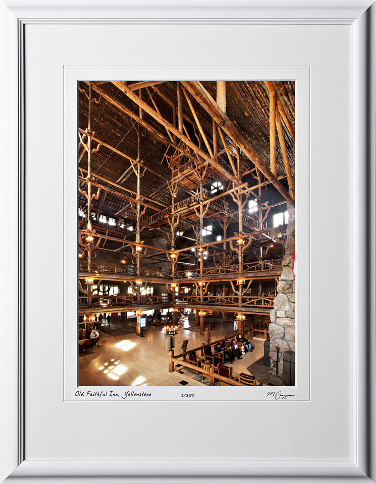 13092259 Old Faithful Inn - Yellowstone - shown as 10x14