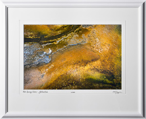 13092310 Hot Spring Colors - Yellowstone - shown as 12x18