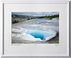 13092313 Heart Spring - Yellowstone - shown as 12x18