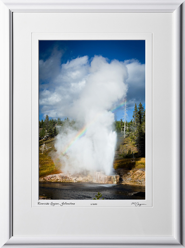 13092338 Riverside Geyser - Yellowstone - shown as 12x18