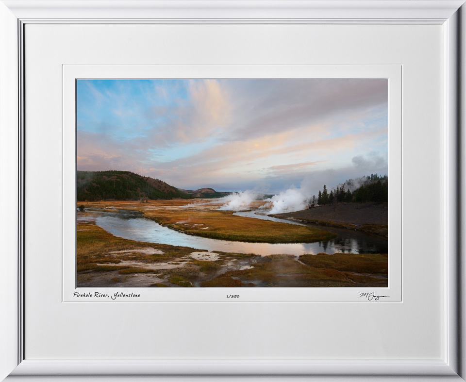 13092401 Firehole River - Yellowstone - shown as 12x18