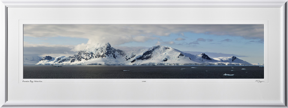 S130114E Paradise Bay - Antarctica - shown as 10x45