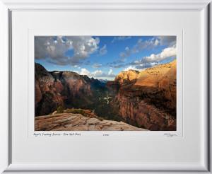 15090108 Angel's Landing Sunrise - Zion Nat'l Park - shown as 12x18