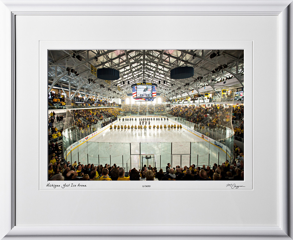15131406 Michigan Yost Ice Arena - shown as 12x18