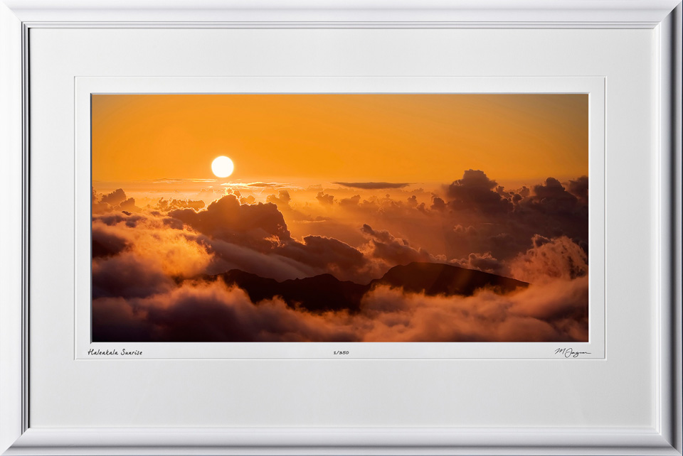 S080407B Haleakala Sunrise - Maui Hawaii - shown as 12x24