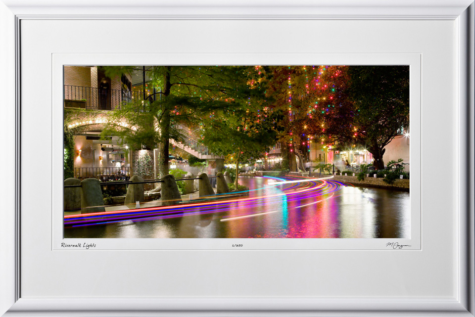 S071207A San Antonio Riverwalk - shown as 12x24