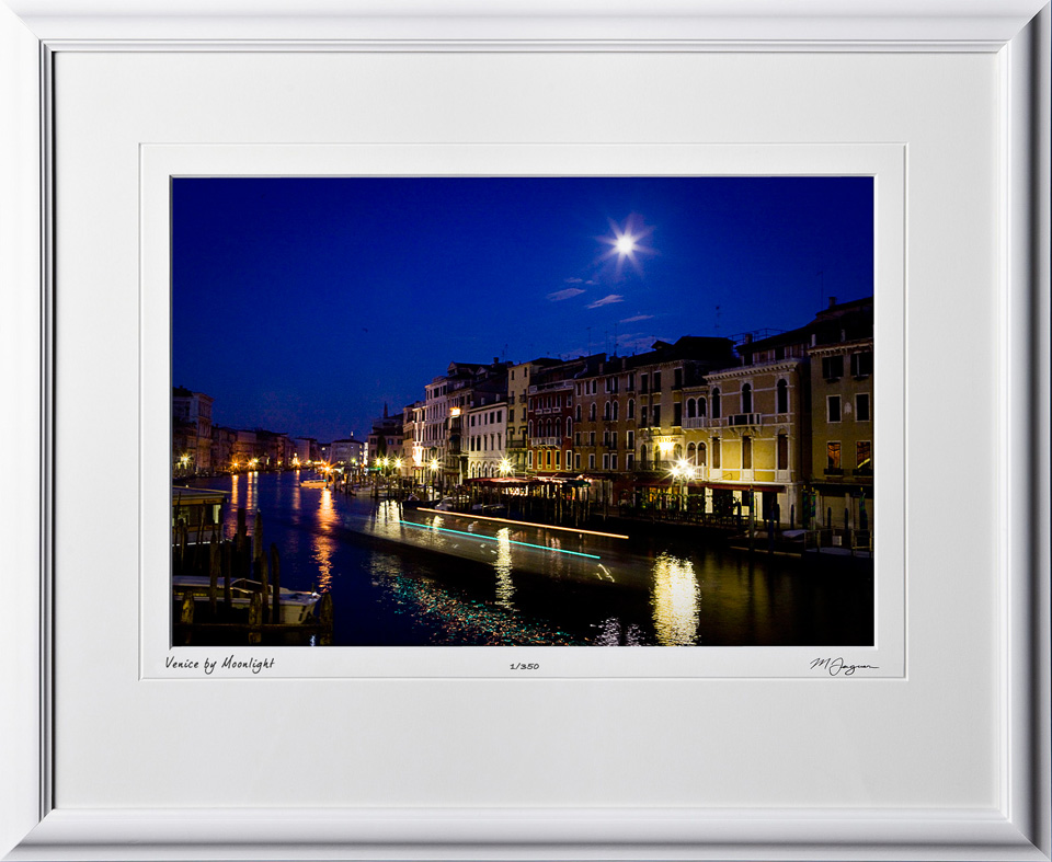 S100924A Venice By Moonlight - Italy - shown as 12x18