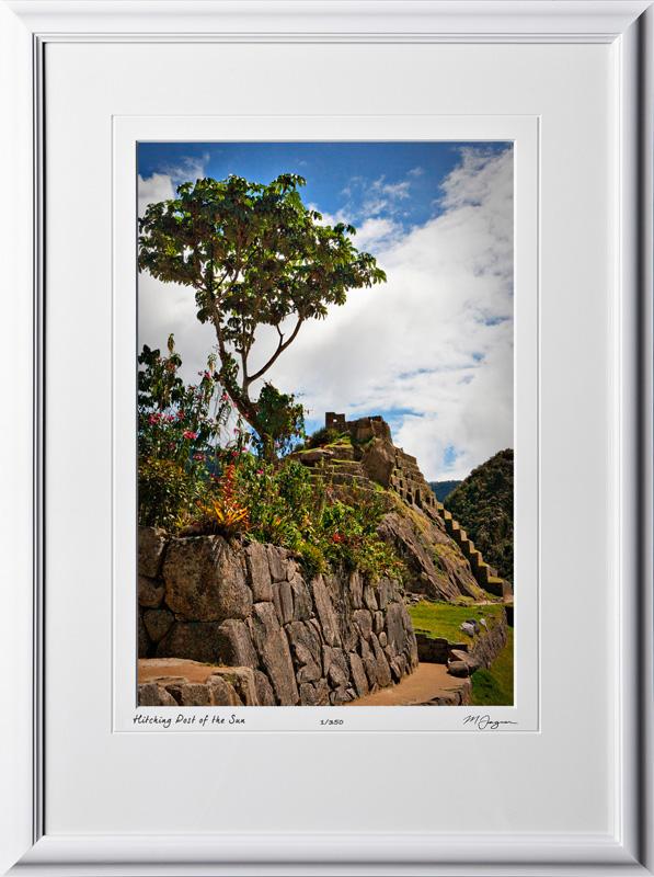 S110517 021 Hitching Post of the Sun Machu Picchu - shown as 12x18