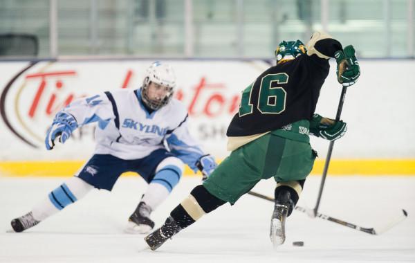 Huron Hockey VS Skyline, 1-11-14, Yost Ice Arena Ann Arbor