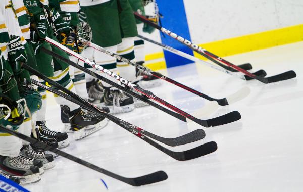 Huron Hockey VS Bedford, 1-15-14, Ann Arbor Ice Cube
