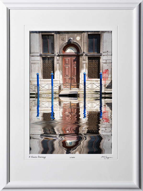 A100924 Venice Doorway - Italy - shown as 12x18
