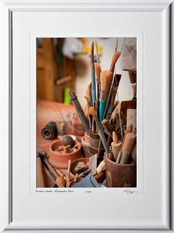 S110516 060 Pablo Seminario ceramic studio Urubamba Peru - shown as 12x18