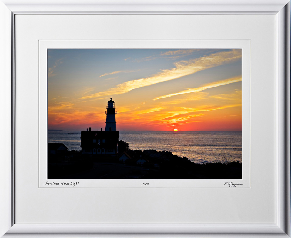 S080824B Portland Head Light - Maine - shown as 12x18