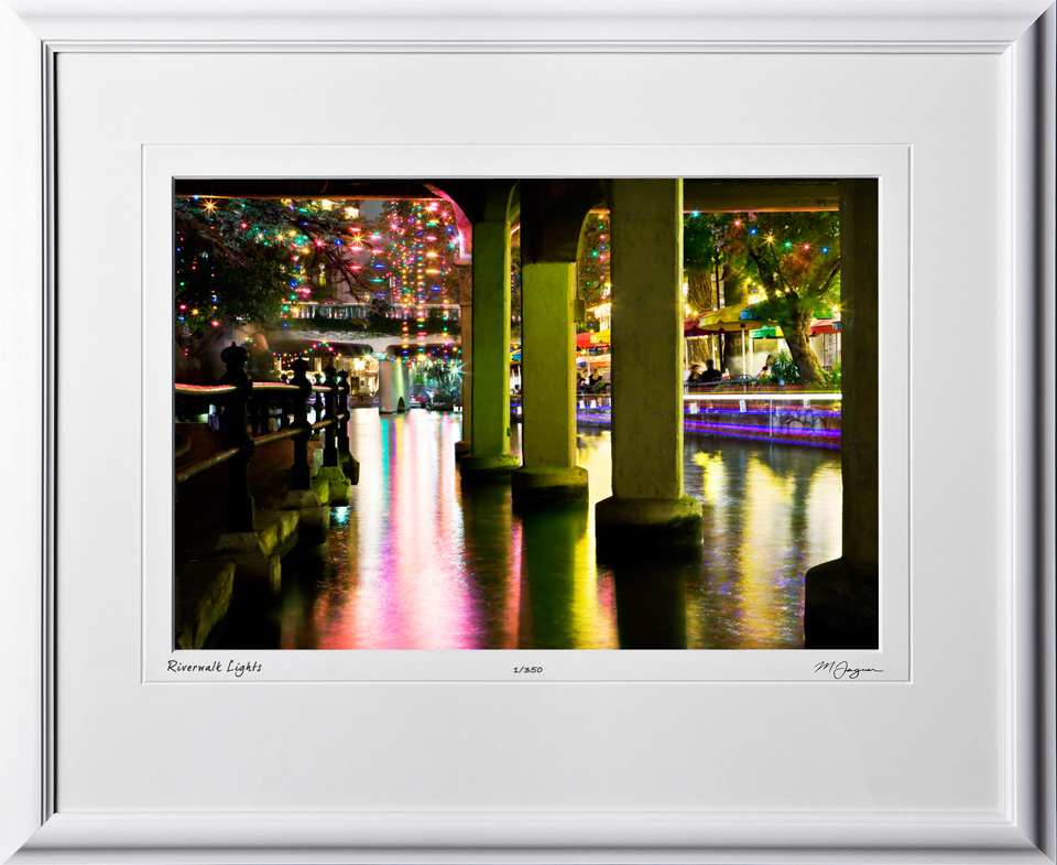 S071207G San Antonio Riverwalk - shown as 12x18