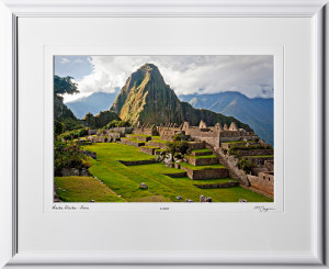 S110517 043 Machu Picchu - Peru - shown as 12x18