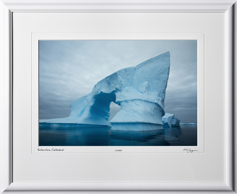 S130112C Antarctica Cathedral - Antarctica - shown as 12x18