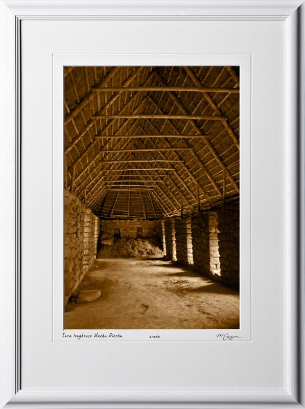 S110517 048 Inca longhouse Machu Picchu - shown as 12x18