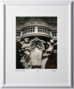 A060421C Basilica Parrocchiale Santa Maria del Popolo - Rome Italy - shown as 12x14