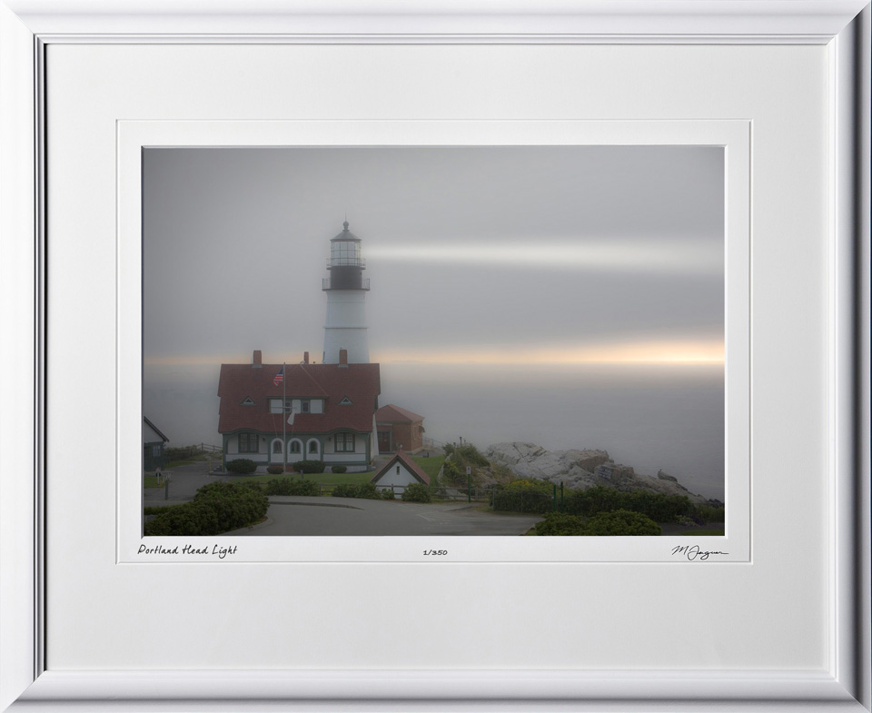 S080824D Portland Head Light - Maine - shown as 12x18