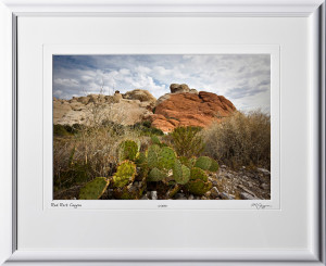 S081002B Red Rock Canyon - Nevada - shown as 12x18
