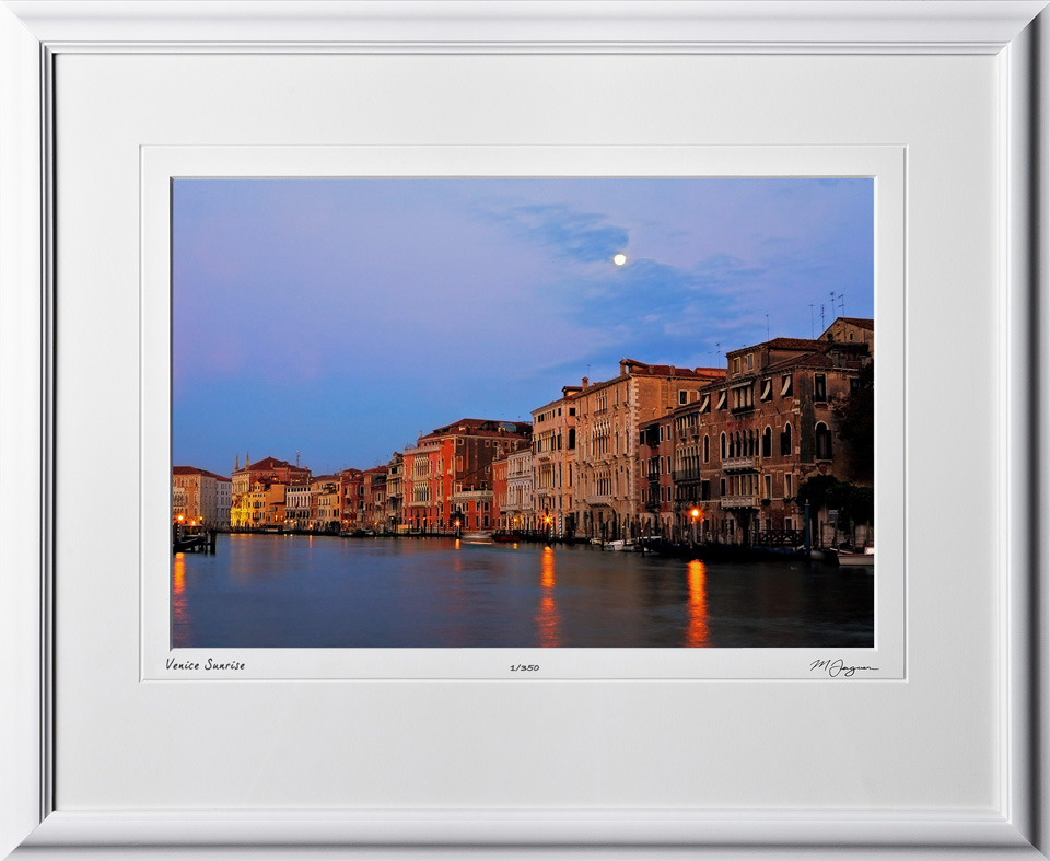 S100924B Venice Italy Asleep - shown as 12x18