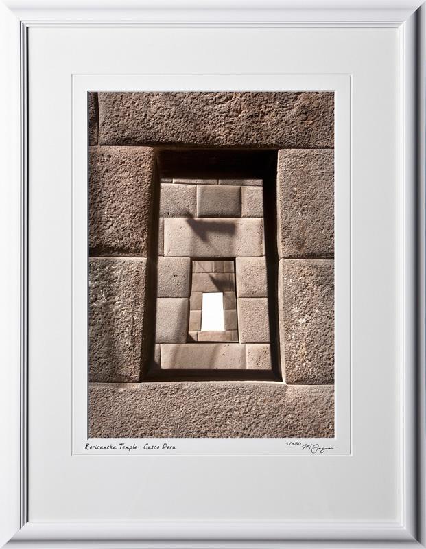 S110519 022 Koricancha Temple Cusco Peru - shown as 10x14