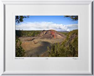 S080405C KilaueaIki Crater - Big Island Hawaii - shown as 12x18