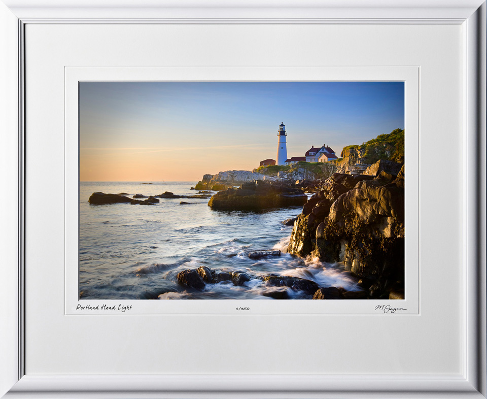 S080823G Portland Head Light - Maine - shown as 12x18