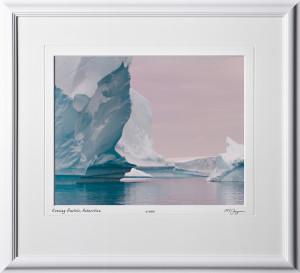 S130112J Evening Pastels - Antarctica - shown as 11x14