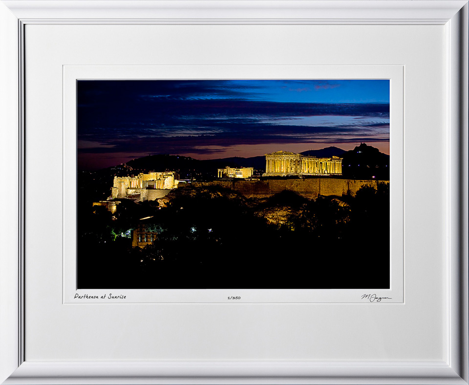 45 greece_fine_art_photo_DalCoast_fine_art_photo_S100910AParthenonSunriseshownas12x18