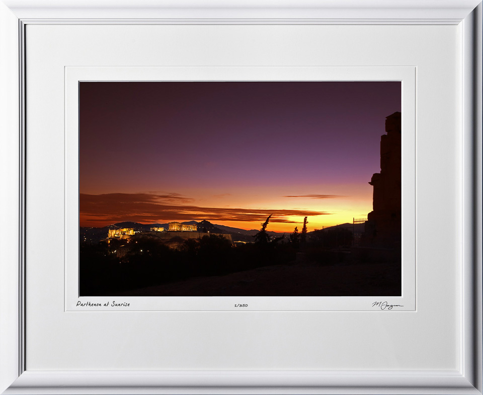 47 greece_fine_art_photo_DalCoast_fine_art_photo_S100910BParthenonSunriseshownas12x18