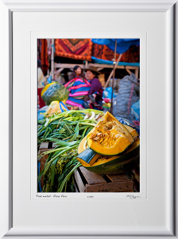 S110515 059 Food market in Pisac Peru - shown as 12x18