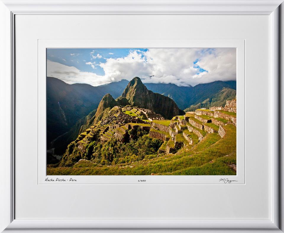 S110517 036 Machu Picchu - Peru - shown as 12x18