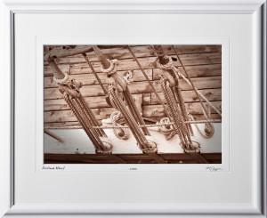 S080824W Portland Wharf - Maine - shown as 12x18